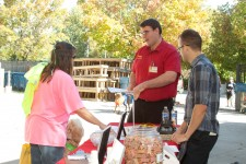 2013 Walk For Animals - Brent Demonstrates Process