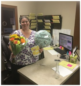 Angela's 3 Year Anniversary With Referral
