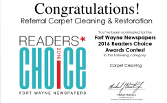BLOG - Fort Wayne Newspapers Best Carpet Cleaner Award