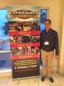 Blog - Alan at The Experience Trade Show