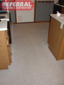 Carpet - 10 Dirty Olefin Berber Kitchen Carpet Like New