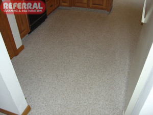 Carpet - 13 Referral Cleaned This Kitchen Carpet To Like New Condition