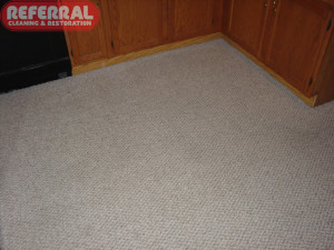 Carpet - 16 Referral Made This Kitchen Carpet Clean Up Like New