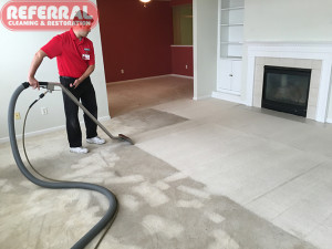 Carpet - Carpet Cleaning Contrast in Dirty Fort Wayne Rental House