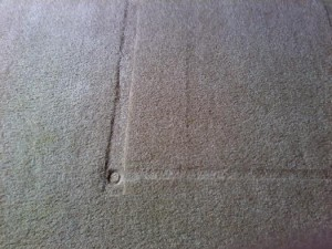 Carpet - Carpet Dented From Furniture Base