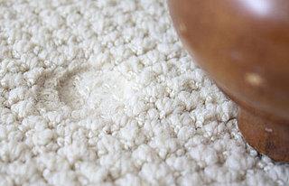 Carpet - Carpet Dented From Furniture Leg