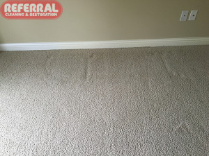 Carpet - Furniture Dents after cleaning