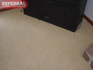 Carpet - Red Kool Aid Stain removed Completely from carpet