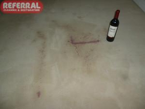 Carpet - Red Wine Spilled On Carpet