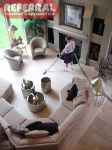 Carpet - Referral Cleans Carpet For Particular Homeowners 2