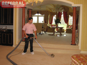 Carpet - Referral is comfortable cleaning in high end homes
