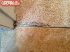 Carpet - Repairable Conditions Edge Fraying