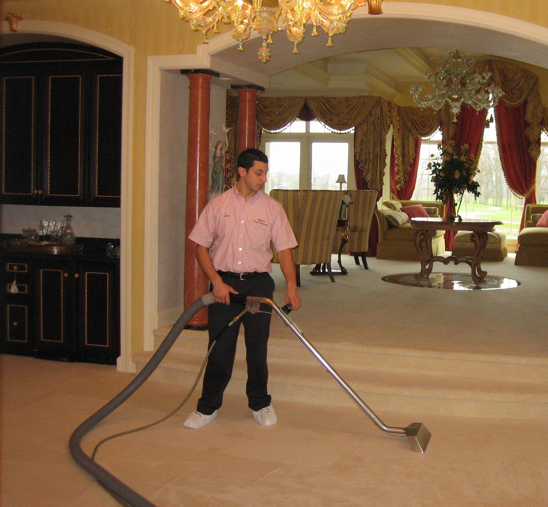 Cleaning Carpet In Home