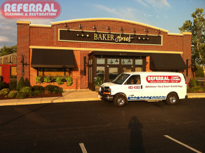 Commercial - Cleaning Carpet At Baker Street