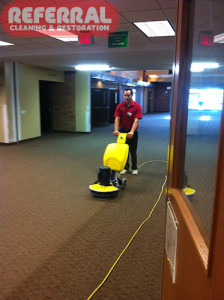 Commercial - Cleaning With Encapsulation