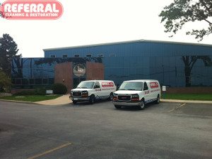 Commercial - Referral Cleaning Carpet At Fort Wayne Metals