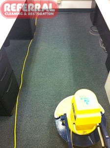 Commercial - Spots and Soiled Traffice Areas Removed After Cleaning