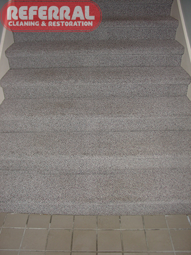 Commercial - Stairs Look Like New After Cleaning