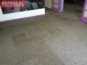 Commercial - What a difference carpet cleaning by Referral makes