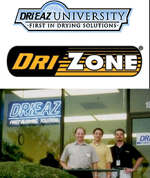 Ron, Alan with their instructor Brandon Burton in Nashville, TN at the Drieaz Applied Structural Drying Course.