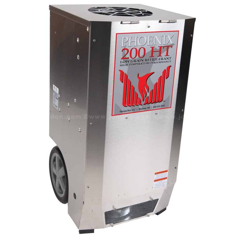 Emergency - Low Grain Refrigerant Dehumidifier Phoenix 200 HT