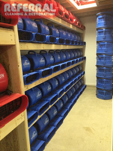 Emergency -  Referrals large inventory of air movers are ready for a water damage surge in fort wayne