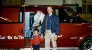 History - Ron & Alan at Bane Clene 1988