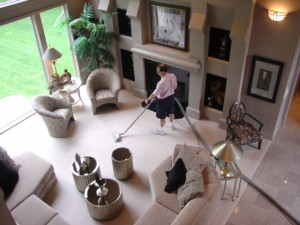 MAIN IMAGE - Cleaning Carpet In A Home