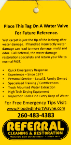 Resources - Water Damage Tags (Back)