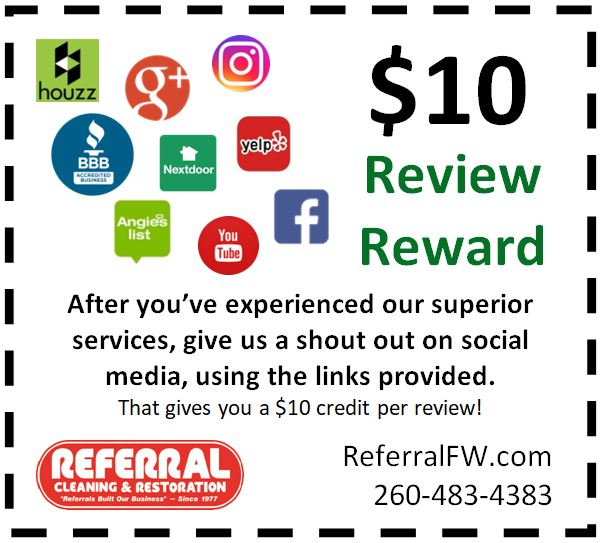 Online Review Carpet Cleaning Coupon