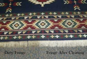 Rug - Fringe Cleaning Contrast