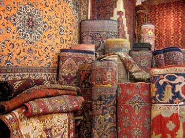 Rug - Oriental Rugs Stacked