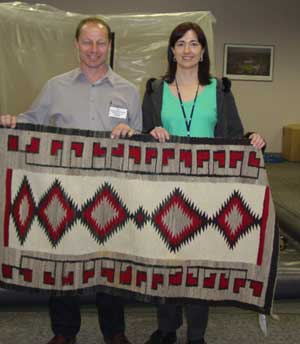 Ron & Lisa Wagner's At Rug Secrets Rug Cleaning Workshop In Chicago