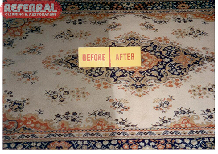 Rug - rug cleaning contrast
