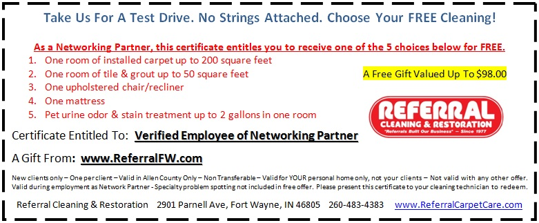 FREE Networking Partner's Test Drive