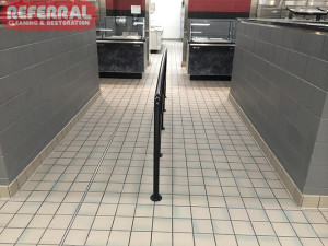 Tile - Clean Tile & Grout Floors After Referral Cleans Fort Wayne High School