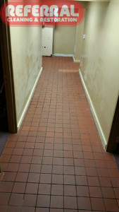 Tile - Cleaning Tile In A Fort Wayne Business - After