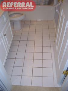 Tile - Dirty Bathroom Tile & Grout