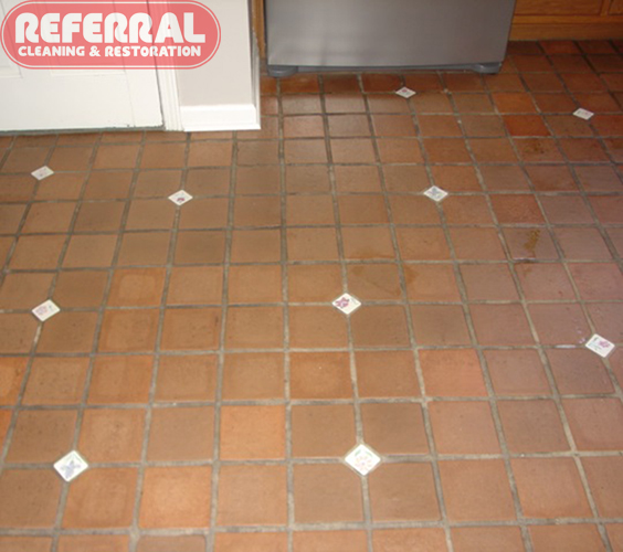 Tile   Dirty Kitchen Tile U0026 Grout Floor