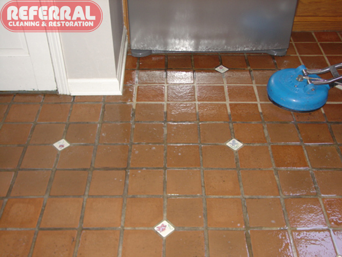 ... Tile   Kitchen Tile U0026 Grout Cleaning Contrast ...