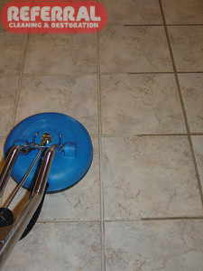 Tile - Referral Makes Dirty Dark Grout Clean and Light Again