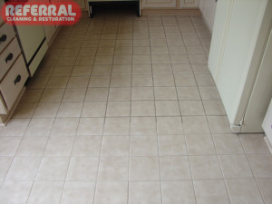 Tile - Soiled Kitchen Ceramic Tile & Grout