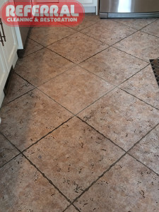 Tile - Tile Cleaning Contrast - Referral Removed Embedded Dirt