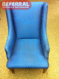 Upholstery - Chair Cleaning 1 - After