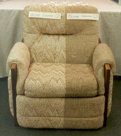 Upholstery - Chair Cleaning