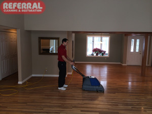 Wood - Cleaning A Wood Floor