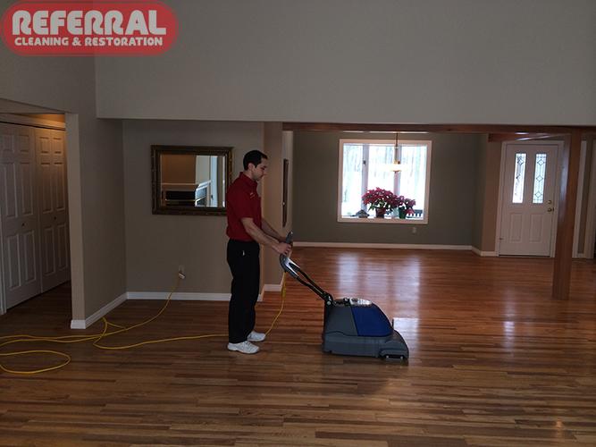 Hardwood Floor Cleaning Process Fort Wayne In